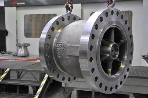 Axial Flow Valves Class 300 : Check non slam valves engimat international